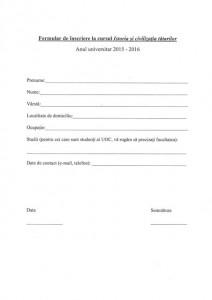 formular inscriere