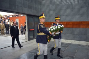 Ministrul Bogdan Aurescu - Ziua Holocaustului 2015