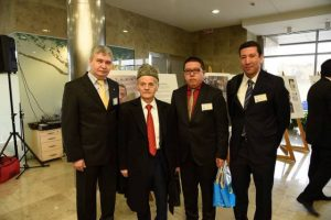Vilnius, aprilie 2016: Samir Menan, Mustafa Abdulcemil Kirimoglu, Muurat Iusuf, Metin Omer